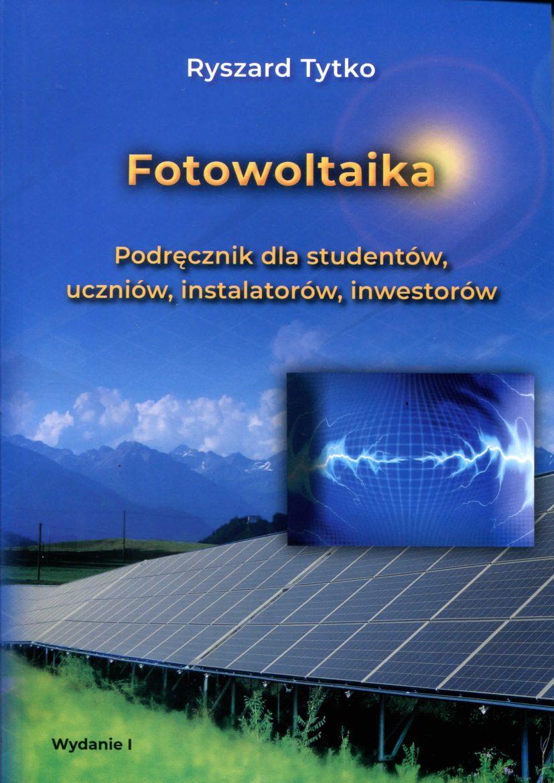 fotowoltaika podręcznik dla studentów uczniów instalatorów inwestorów